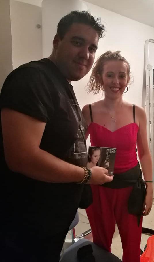 Con Victor Rodriguez - El Barraco-dim