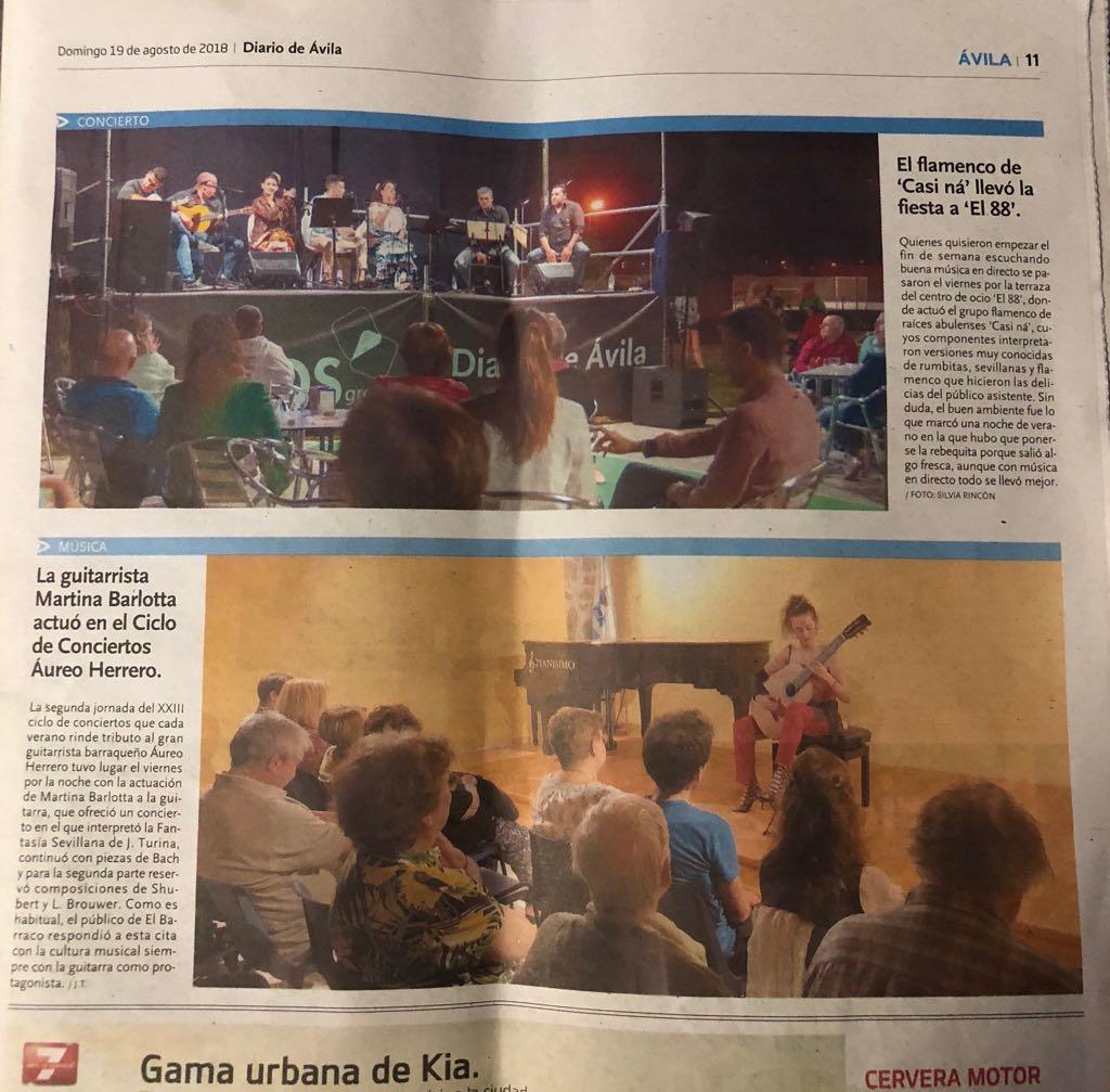 Diario de Avila 19.08.2018